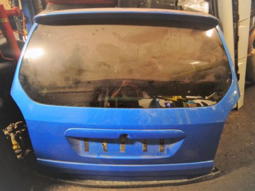 ZAFIRA A GSI COMPLETE BOOTLID & SPOILER IN ARDEN BLUE. DEWIPERED